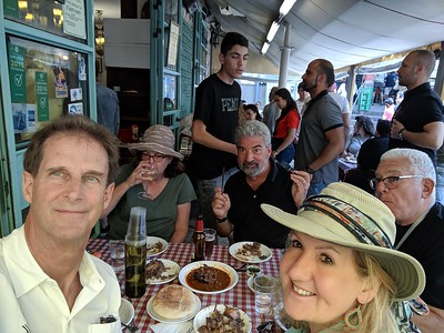 Day 9, Israel - More Jerusalem with Mount of Olives view, Holocaust Museum and markets