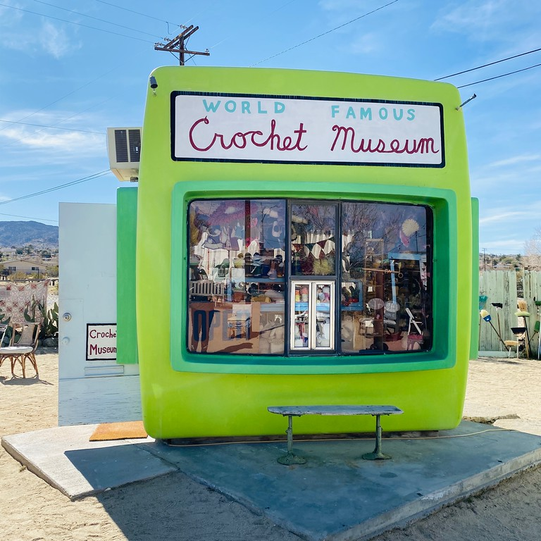 The World Famous Crochet Museum in Joshua Tree, California