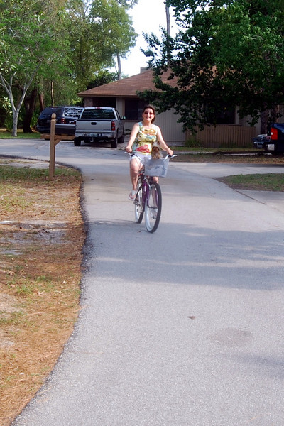 028 Jewels and Lisa on bike.jpg