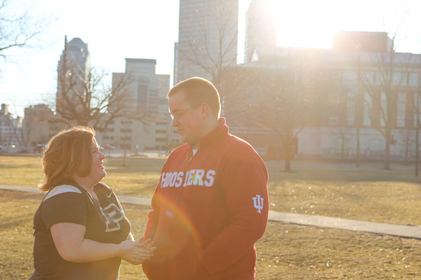 Lauren + Adam = Engaged!  |  Indianapolis, IN