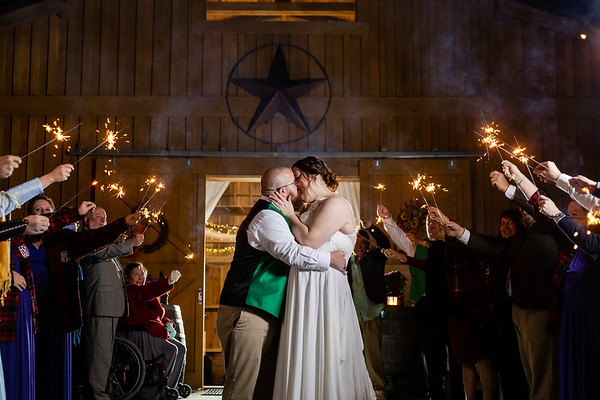 Sarah & Chad | A Laid-Back, Halloween-Lite, Country Wedding at Carver Lake Venue