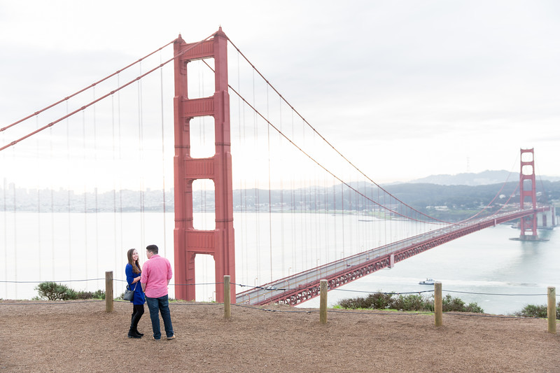 Sean & Rachel Golden Gate Bridge Proposal