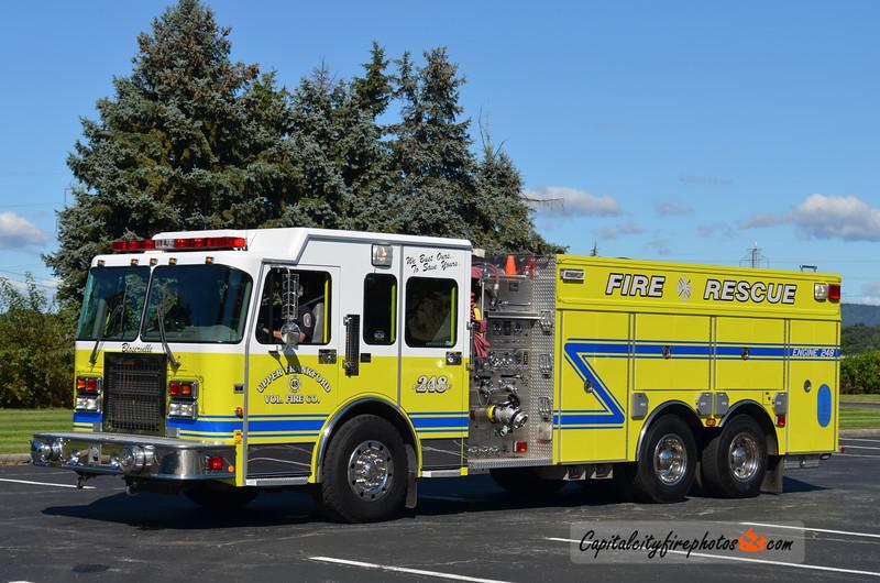 Upper Frankford Engine 2-48: 2000 Spartan/4 Guys 1750/2000