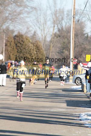 2011 Run Like The Dickens 10K & 5K Finish