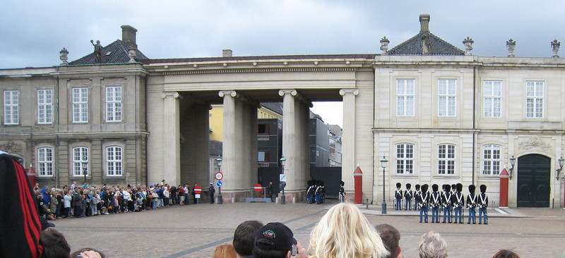 Amalienborg Palace  - Changing of the Guard
