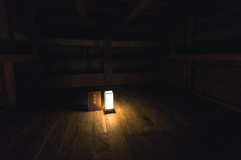 Lantern Lit Armory at Himeji Castle