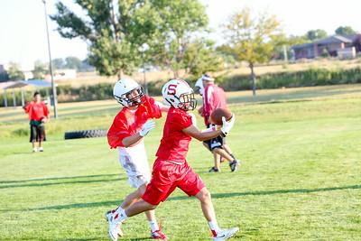 Scottsbluff Football Practice