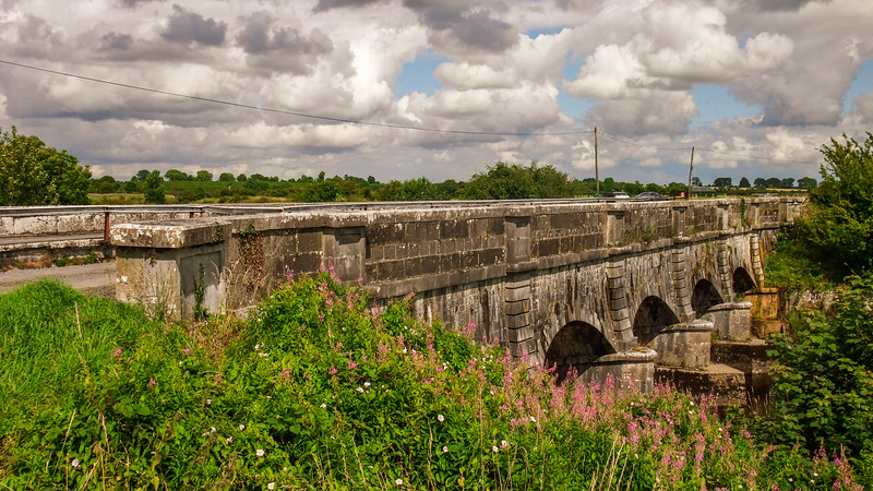 Whitworth Aqueduct over the River Inny, near Abbeyshrule