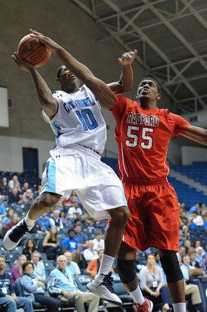 College Basketball-Radford @ Citadel