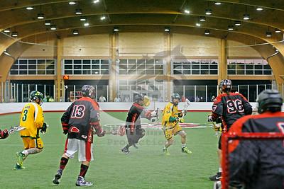 9/15/2015 - Australian National Team vs. Onondaga Redhawks - World Indoor Lacrosse Championship Exhibition Game - Tsha' Thon'nhes, Onondaga Nation Territory (Onondaga Nation Field House, Nedrow, NY)