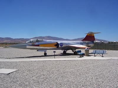 NASA F-104 Lockheed Martin Gate Guardian