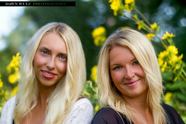 Felicia and Rebecka