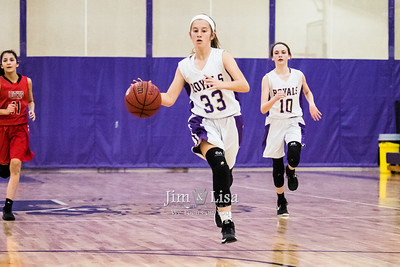Basketball (8th Grade) vs Luther, November 30