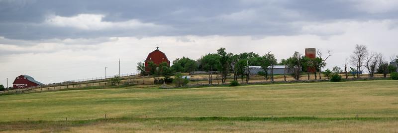 North Dakota Barn, I-94