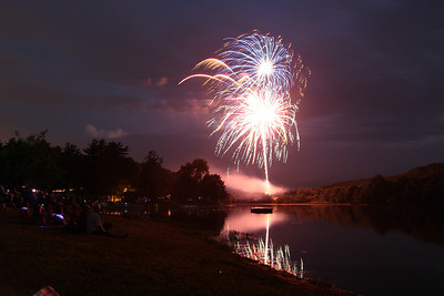 Fireworks and other shots Odetah 7/7/12