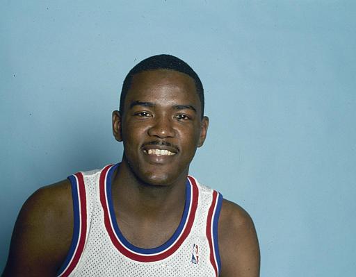 Description of . Detroit Pistons' Joe Dumars is seen in 1990. (AP Photo)