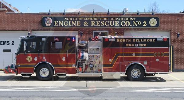 North Bellmore F.D. New Rescue/Engine 656   4/8/18
