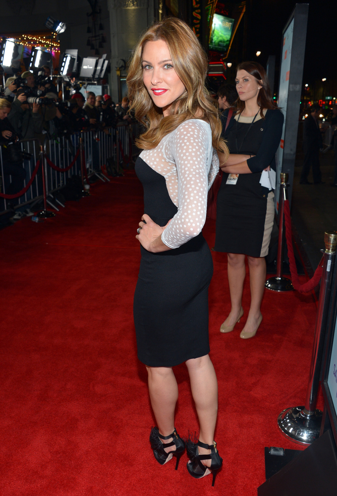 Description of . TV Host Jill Wagner arrives at the premiere of Relativity Media's