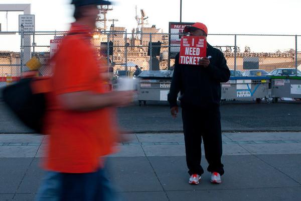 Braves vs. Giants, NLDS Game 2