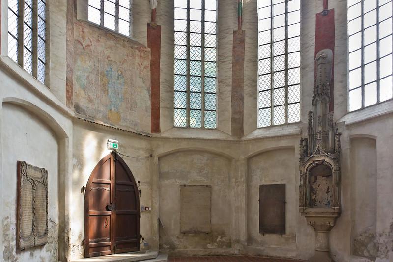 Frankfurt/Oder, St. Marien. Nördl. Einganghalle