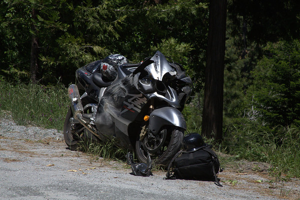 06142011 Injury Motorcycle Accident Noll Court Pioneer CA