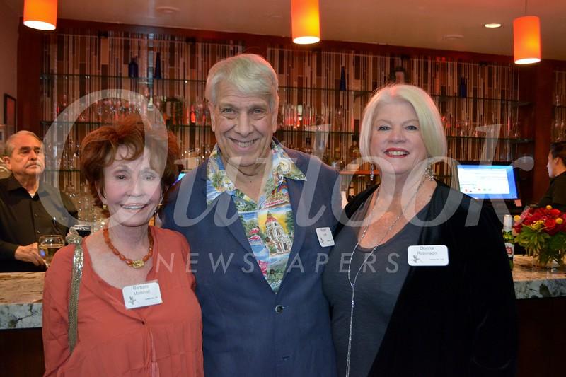 Barbara Marshall, Robert Loitz and Donna Robinson
