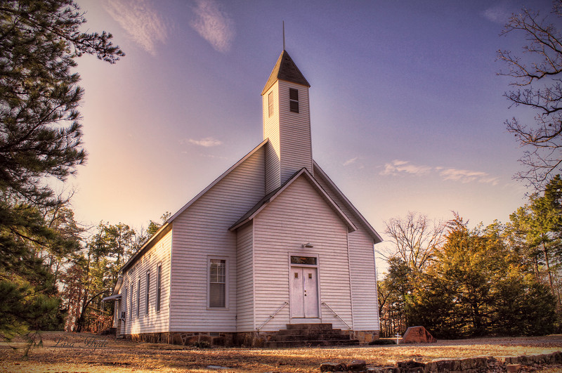 Mt. Pleasant Methodist Church, Waldron, AR
