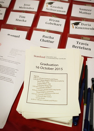 Stanford Innovation & Entrepreneurship Certificate Program Graduation