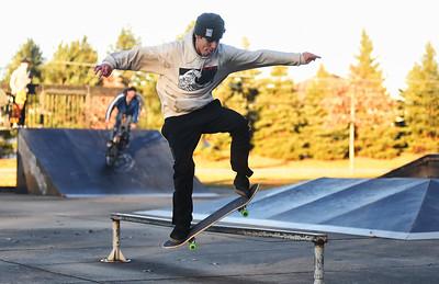 Skateboarding in Avon Lake