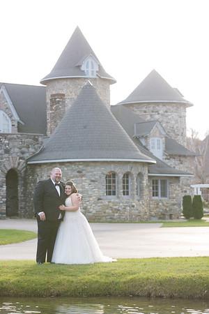 Castle Farms November Fall Wedding West Garden Queen's Tavern Photography