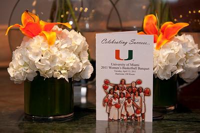 Women's Basketball Banquet - April 12, 2011
