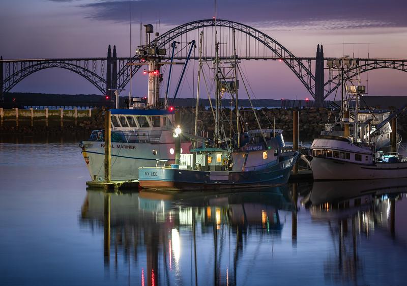 Fishing boats, Yaquina Bay, Newport, Oregon