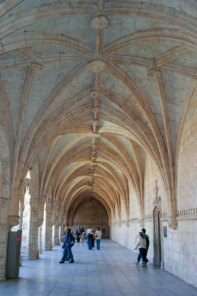 Lisboa Portuga - Jeronimos Monastery - March 2008