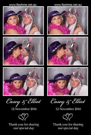 Casey & Elliot's Wedding - 12 November 2016