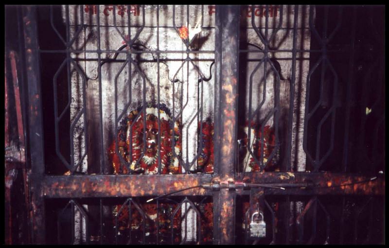 durga temple diety jail