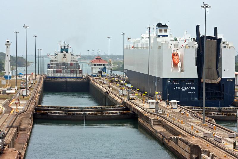 Transiting Panama Canal
