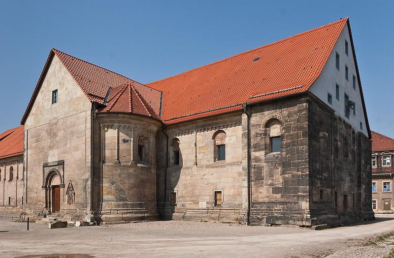 Erfurt, Peterskirche von Südost