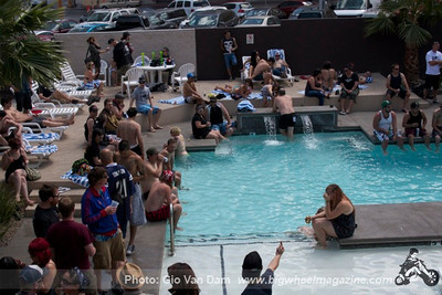 Pool Party with DJ Lawless - Gold Spike Hotel - Las Vegas, NV - May 26, 2012