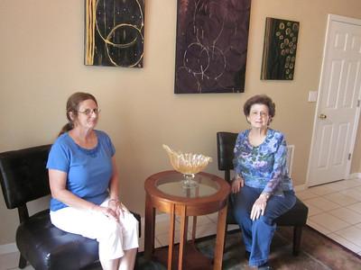Sister Kathy's Visit June 16, 2012