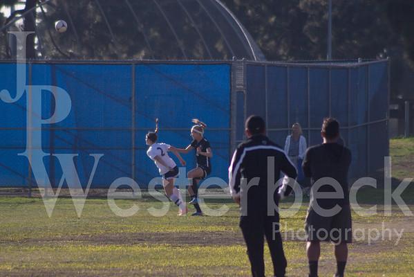 Varsity Girls Soccer @ Marina HS