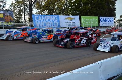 Oswego Speedway - 10/6/18 - Rick Young