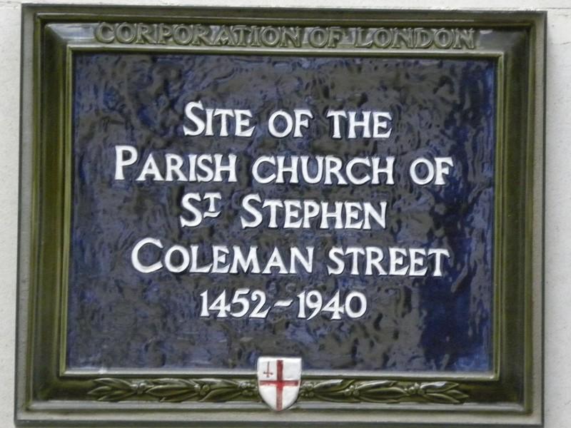 CC Plaque St Stephen Coleman.JPG