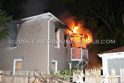 Laurel Ave. Fire (Bridgeport, CT) 9/14/06