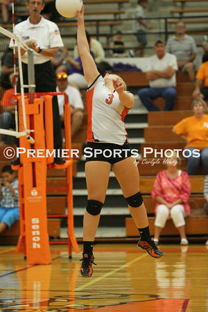 La Porte JV Volleyball vs Dayton 8/26/2014