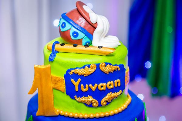 Yuvaan's 1st Birthday Cake