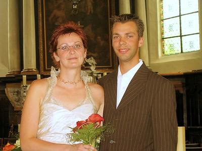 Huwelijk juf Kathleen