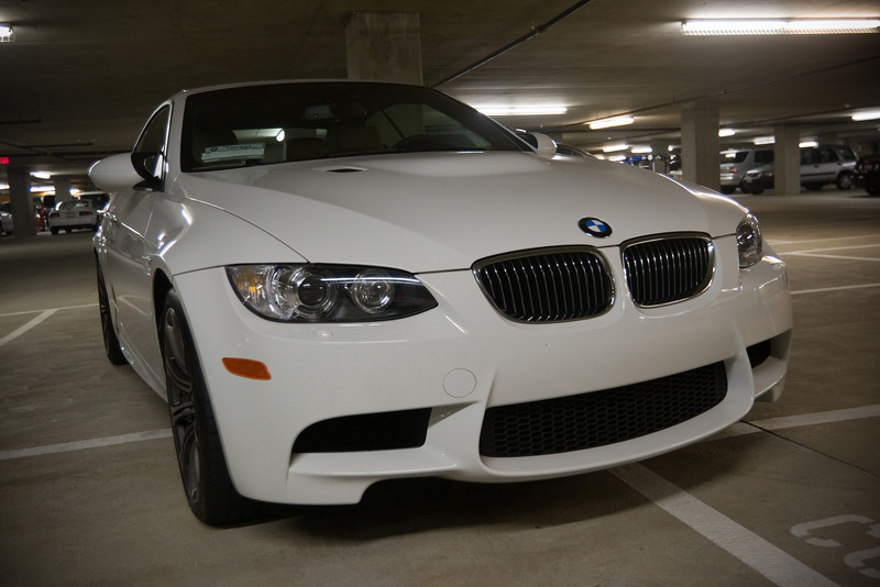 Cowboy is the proud owner of this new M3 convertible