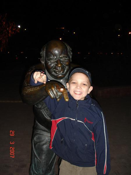 2007-03-29 Экскурсия по ночной Москве