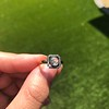 .53ctw Rose Cut Halo Ring, by Single Stone 38