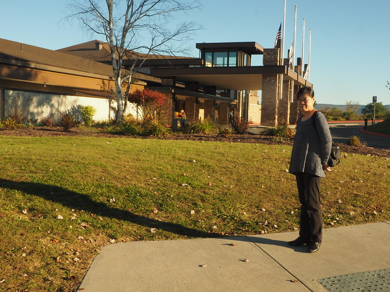Lori at Canaan Valley Resort.JPG